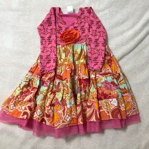 Giggle moon dress size 4T